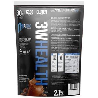Whey Protein concentrado isolado hidrolisado 3w 2,1kg Healthtime