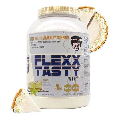 Whey Protein Flexx Tasty 1.8kg Torta De Baunilha Under Labz