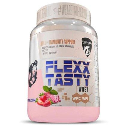 Whey Protein Flexx Tasty 900g Milk Red Smoothie Under Labz