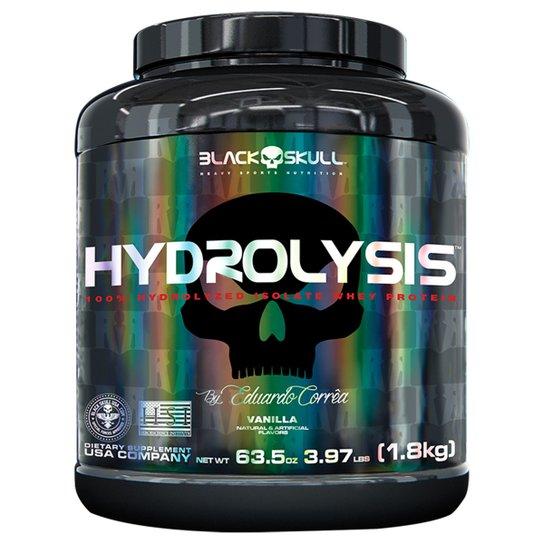 Whey Protein Hydrolysis 1,8kg By Eduardo Corrêa - Black Skull -
