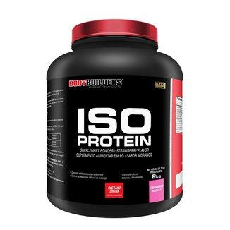 Whey Protein Iso Protein Morango 2 kg Bodybuilders