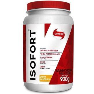 Whey Protein Isofort Vitafor 900g Baunilha