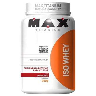 Whey Protein Isolado Iso Whey 900 g - Max Titanium