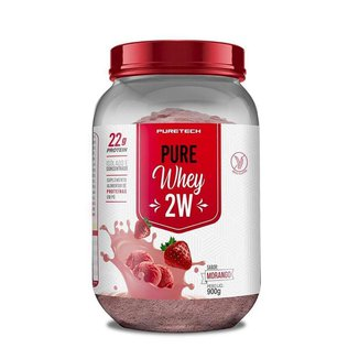 Whey Protein Isolado + Wpc 900G    Puretech