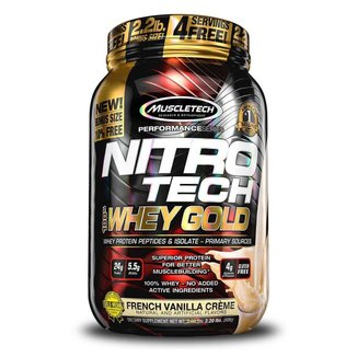 Whey Protein Nitro Tech 100% Whey Gold 2,2Lbs - Muscletech