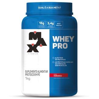 Whey Protein Pro 1 kg - Max Titanium