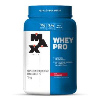 Whey Protein Pro 1kg Max titanum