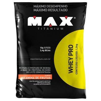 Whey Protein Pro Max Titanium 1,5 kg Refil