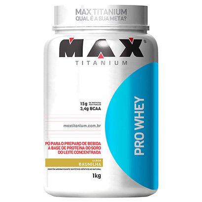 Whey Protein Pro Whey Max Titanium 1Kg