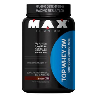 Whey Protein Top Whey 3W 900 gr - Max Titanium