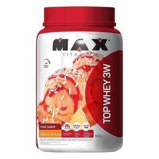 Whey Protein Top Whey 3W Mais Sabor 900 g - Max Titanium