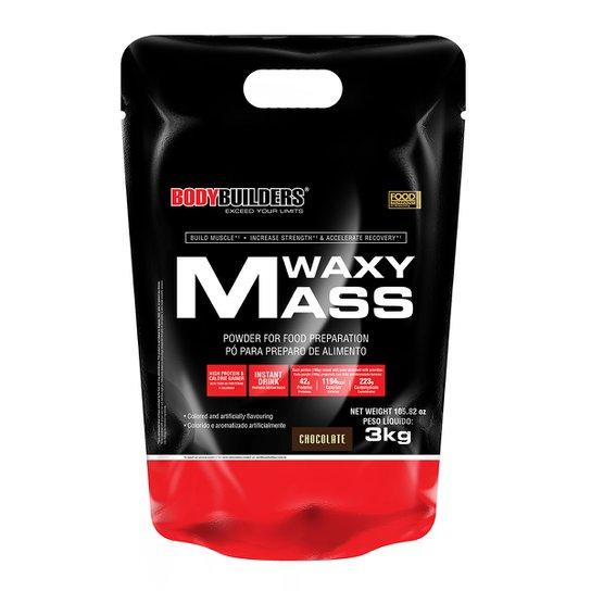 Whey Protein Waxy Mass 3kg Refil - Bodybuilders -