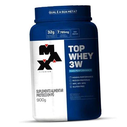 Whey Top 3w 900g Max Titanium