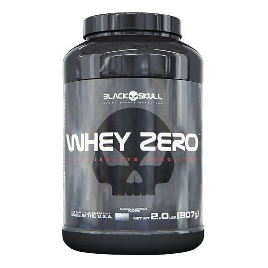 Whey Zero 907 g - Black Skull -