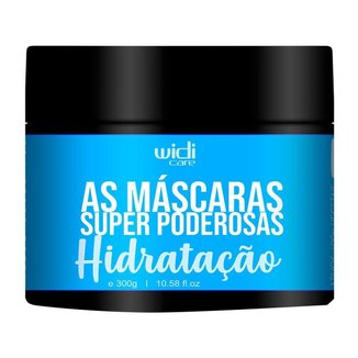 Widi Care As Máscaras Super Poderosas Máscara Hidratação 300g