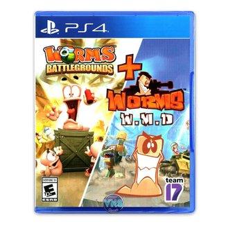 Worms Battleground + Worms WMD - PS4