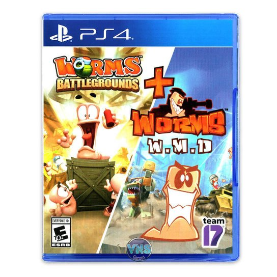 Worms Battleground + Worms WMD - PS4 - Incolor
