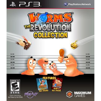 Worms The Revolution Collection - Ps3