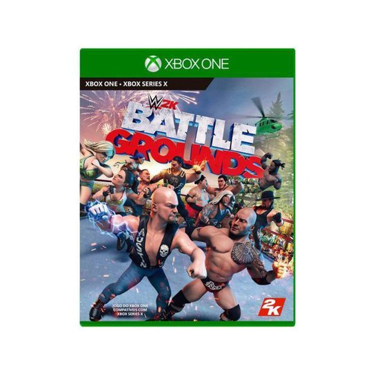 WWE 2K Battlegrounds para Xbox One 2K Games - Incolor