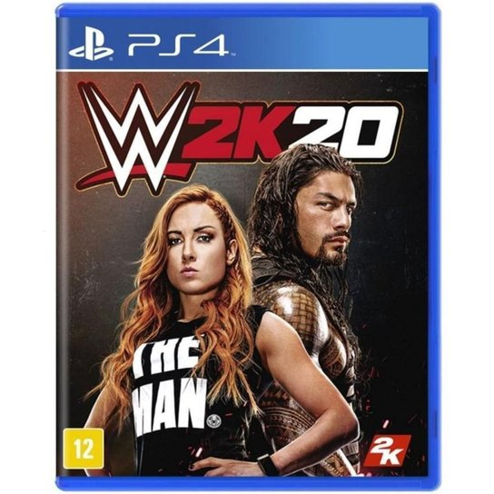 WWE 2K20 - PS4 - Incolor
