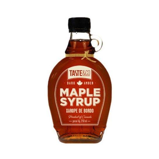 Xarope De Bordo Maple Syrup 250 Ml 100% Puro -