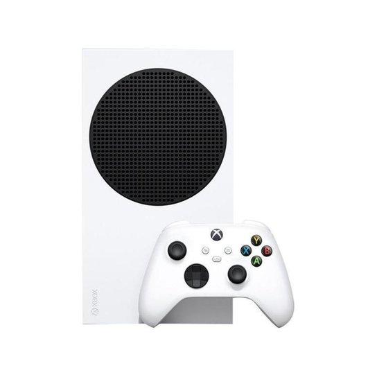 Xbox Series S 2020 Nova Geração 512GB SSD 1 Controle - Microsoft - Branco