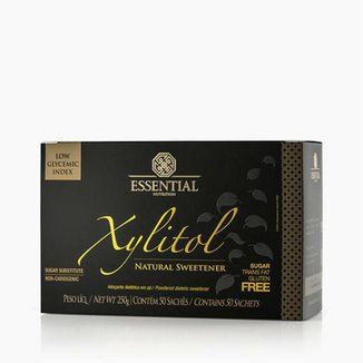 Xylitol 5g (250g) 20 Unidades - Essential Nutrition