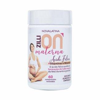 ZilliON Materna (60 Comprimidos) - Novalatina