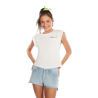 Zinco Shorts Zinco Five Pockets Detalhe Tachas Jeans