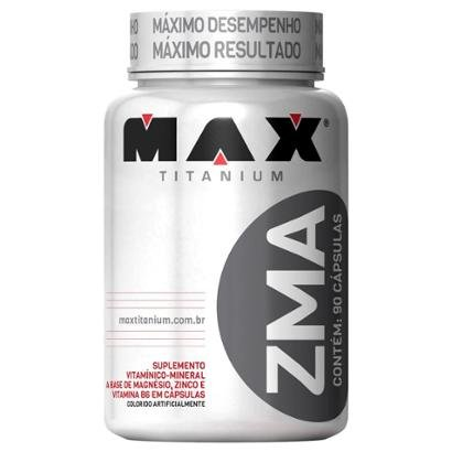 ZMA 90 cáps - Max Titanium - Masculino