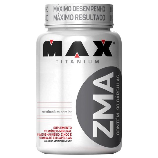 ZMA 90 cáps - Max Titanium -
