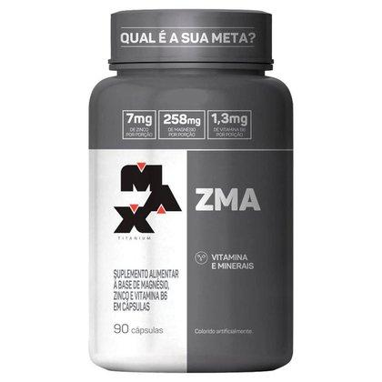 ZMA Aumento de Testosterona com 90 cápsulas Max Titanium