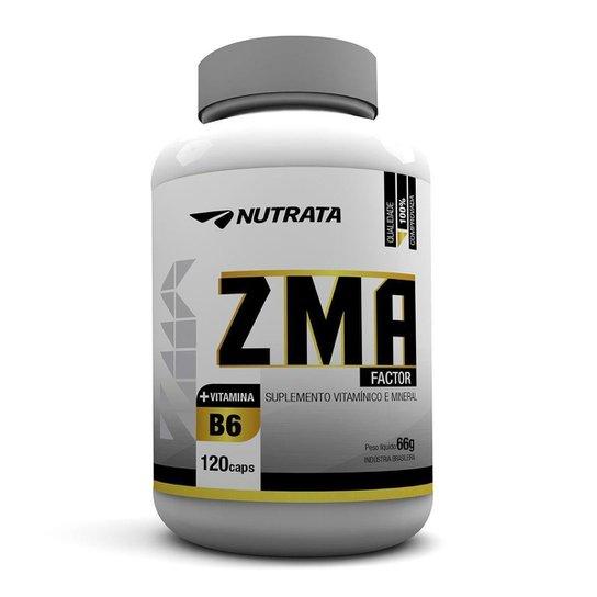 ZMA Factor 120 Cáps - Nutrata -