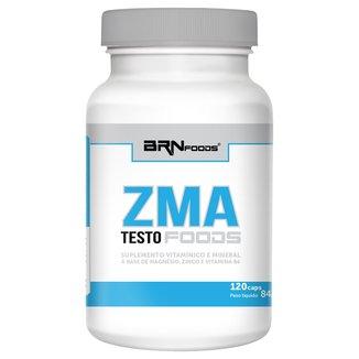 ZMA Testo Foods 120 Cáps - BR Nutrition Foods