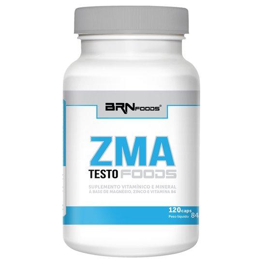 ZMA Testo Foods 120 Cáps - BR Nutrition Foods -