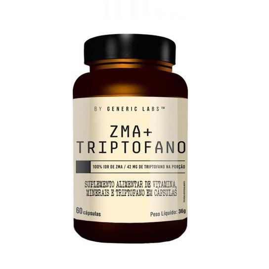 ZMA + TRIPTOFANO TESTBOOSTER (60 Cápsulas) - Generic Labs -